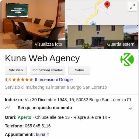 Scheda local Kuna